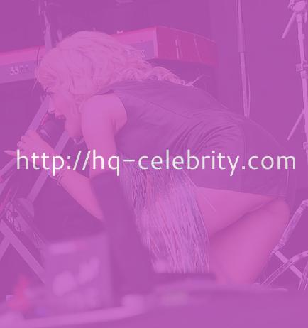 Rita Ora upskirt shots from a recent performance in Scotland.