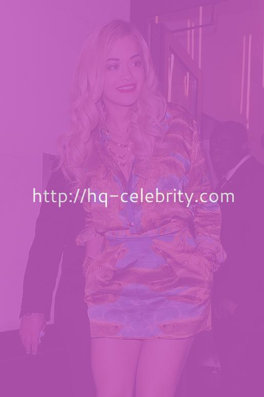 Rita Ora Looks Gorgeous In London