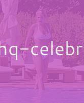 Rita Ora Lounging By A Pool In Ibiza