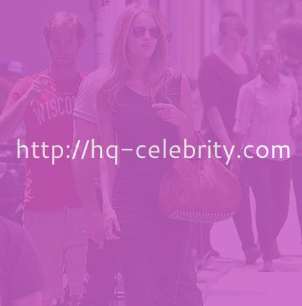Rosie Huntington shopping in tight black dress