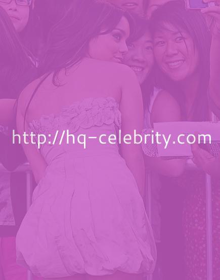 Stunning Vanessa Hudgens at Bandslam premiere