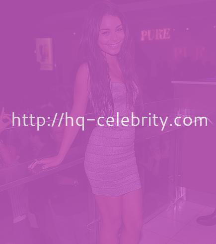 Vanessa Hudgens in tight silver minidress