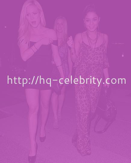 Vanessa Hudgens and Brittany Snow hit the town