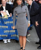 Alicia Keys promotes As I Am at the Late Show