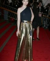 Michelle Trachtenberg at Art Costume Institute Gala
