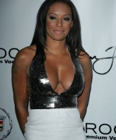 Melanie Brown at P. Diddys Harlem 2 Hollywood Party