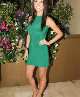 Audrina Patridge in green