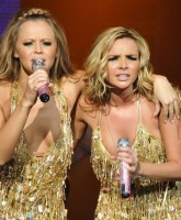 Girls Aloud in The Tangled Up Tour