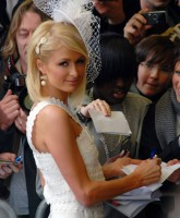 Paris Hilton promotes Can Can in London