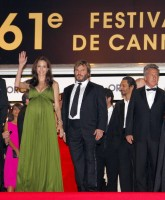 Angelina Jolie at premiere of Kung Fu Panda in Cannes