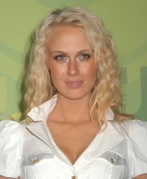 Caridee English at CW Upfront soiree