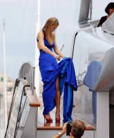Bar Refaeli models in Cannes