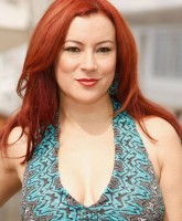 Jennifer Tilly promotes Inconceivable in Cannes
