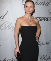 Christina Ricci looking fierce at Cannes