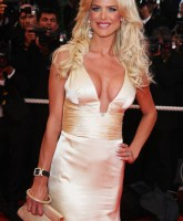 Victoria Silvstedt shows sexy bosom