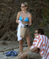 Reese Witherspoon on the beach