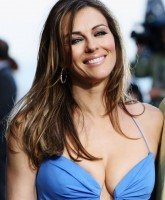 Elizabeth Hurley at Amber Fashion Show