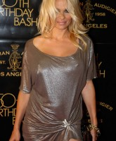 Pamela Anderson and her three bumps