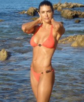 Lisa Rinna by the beach
