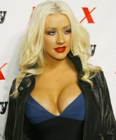 Christina Aguilera is BUST ing