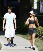 Ashley Tisdale in park