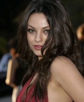 Mila Kuniss bare back Gown