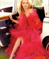 Hayden Panettiere in Glamour July 2008