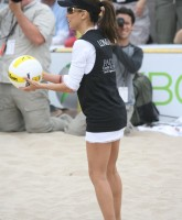 Eva Longoria Pictures from Playing Beach Volley