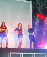 Sugababes performing