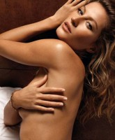 Gisele Bunchens tush in GQ July 2008