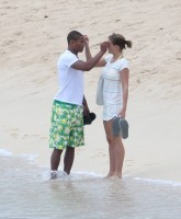 Gemma Atkinson & Marcus Bent at the beach