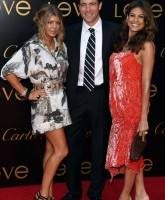 Fergie & Eva Mendes at Cartier's celebration