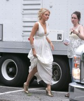 Blake Livelys low cut evening gown