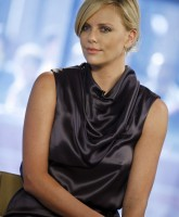 Charlize Theron effortlessly beautiful in Today