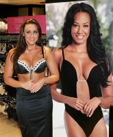 Michelle Heaton helps launch lingerie store