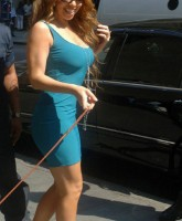 Mariah Carey has a touch able body