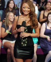 Tila Tequila at MTVs Total Request