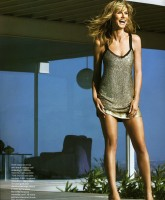 Heidi Klum in August issue of InStyle magazine