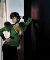 Eva Mendes photoshoot for Flaunt