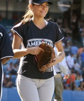 Maria Menounos wears tight pants
