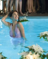Megan Fox in the swimming pool
