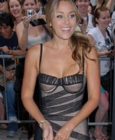 Lauren Conrad looking sweet at the Batman premiere