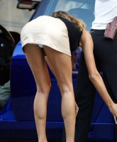 Gisele Bundchen upskirt photos at Taxi