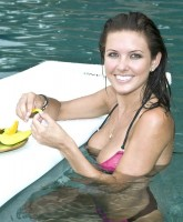 Audrina Patridge in swimming pool