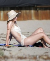 Mischa Barton by the beach