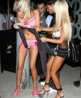 Shauna Sand with some friend