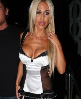 Shauna Sand stripped off panties