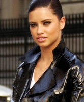 Adriana Lima Filming New Commercial