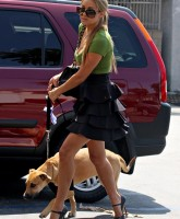 Lauren Conrad with dog