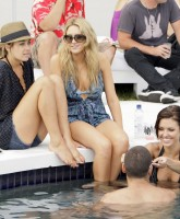 Audrina Patridge having fun